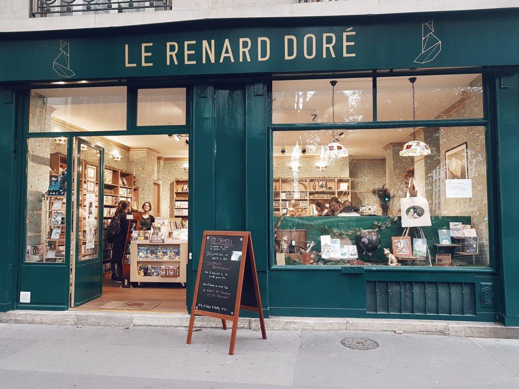 Mes librairies préférées à Paris Le renard doré
