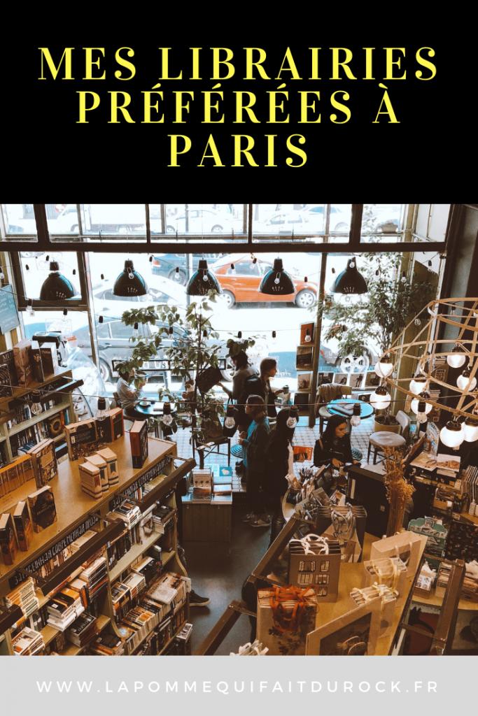 Mes librairies préférées à Paris
